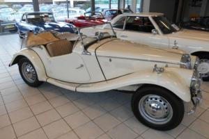 MG/ MGF TF 1.25L 1954, White