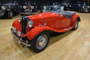 1952 MGTD Left Hand Drive, LHD Photo