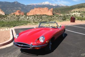 Jaguar : E-Type Leather Photo
