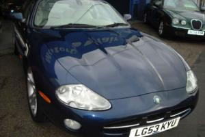 2003 Jaguar XK8 4.2 auto 58,000mls,9 service stamps,Low road tax,Metallic Blue Photo