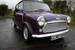1997 Classic Rover Mini Balmoral in Pearlescent Purple with just 30,000 miles Photo
