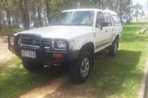 1997 Toyota Hilux Diesel Dual CAB UTE ONE Owner LOW KMS