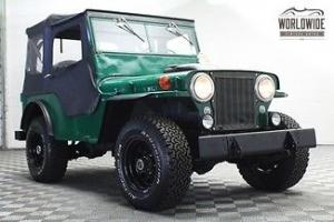 Willys : Other CJ2A WILLYS