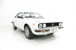 A Rare Lancia Beta Coupe 2000 with Just 31,408 Miles and Displayed at NEC 2014