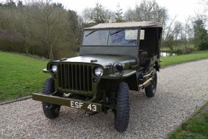 Willys : JEEP1-5 HP BROWN LEATHER