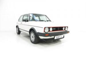 A Legendary Mk1 VW Golf GTi with Complete History File and 91,208 Miles.