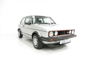 A Legendary Mk1 Volkswagen Golf GTi Campaign Edition with VW History.