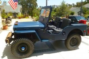 Willys : Willys CJ-2