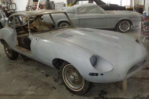 Jaguar : E-Type Coupe 2+2 Photo