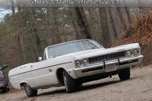 Plymouth : Fury Sport Convertible