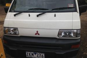Mitsubishi Express SWB 2001 VAN 5 SP Manual 2L Carb 2 Seats in Ringwood, VIC