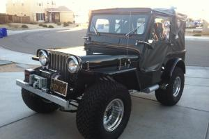Jeep : CJ Post WWII Willys