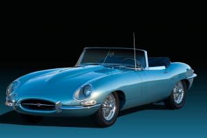 "Jaguar : E-Type SR I ""Flat Floor"" Roadster"