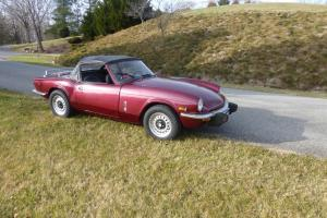 Triumph : Spitfire Base Convertible 2-Door