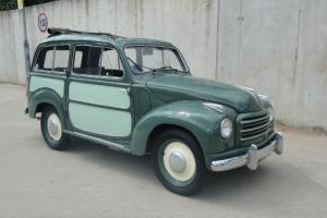 Fiat Topolino Belverdere-1954price reduced !!!