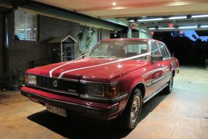 Toyota Crown Royal 1981 4D Sedan 4 SP Automatic 2 8L Fuel Injected