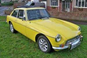 1980 MG MGB GT Photo