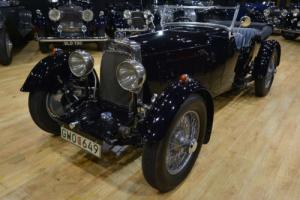 1930 Aston Martin International 4 seat tourer.