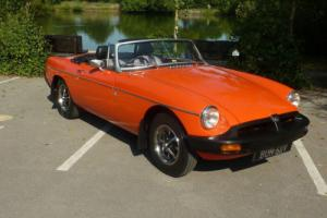 MGB ROADSTER 1979 - STUNNING CAR READY FOR SUMMER AND SHOWING