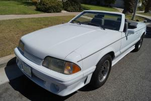 Ford : Mustang ASC McLAREN LIMITED EDITION CONVERTIBLE WITH 51K !