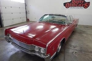 Lincoln : Continental Suicide Doors Convertible Top Windows Work