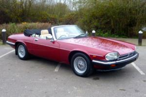 JAGUAR XJS V12 CONVERTIBLE 1989 LAST OWNER OF 14 YEARS - STUNNING CAR Photo
