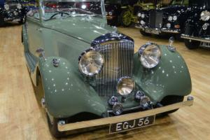 1937 Derby Bentley 4.25 Park Ward Drophead.
