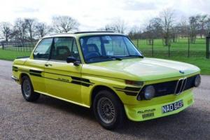 1976 BMW 2002 Tii (Group 2 Alpina recreation)
