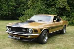1970 Ford Mustang Mach 1 Cobrajet