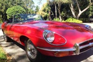1971 Jaguar E-Type 4.2 Series II Roadster Photo