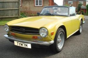 1973 Triumph TR6 Photo
