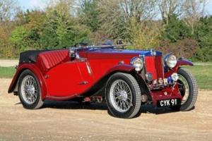 1936 MG NB Magnette