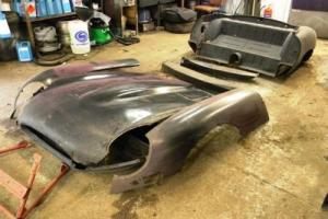 1960 Jaguar 1960's E-Type Bonnet and Rear Tub