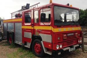 1989 Dennis Carmichael Fire Engine