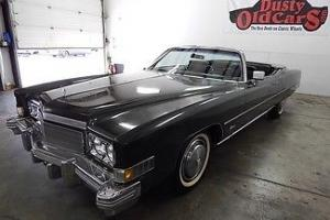 Cadillac : Eldorado Runs Great Top Inter VGood Body Paint Looks Nice