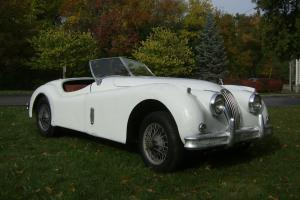 Jaguar : XK XK140 Photo