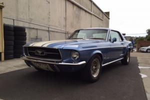 Ford Mustang 1967 2D Hardtop 3 SP Automatic 4 7L Carb