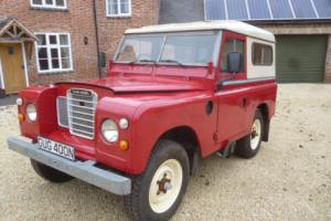 "1974 Land Rover 88"" - 4 CYL 5 bearing petrol New Marsland Galv Chassis rebuild"