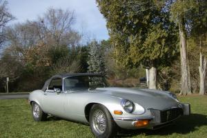 Jaguar : E-Type Open Two Seater Photo