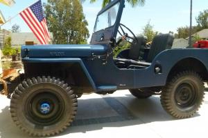 Willys : cj2a cj2a