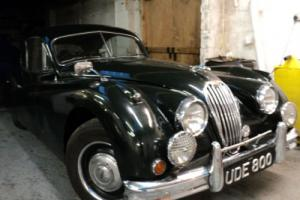Jaguar XK140 FHC 3442cc MANUAL R/H/D,1955 BRITISH RACING GREEN 2 OWNER CAR