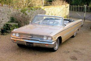 1963 Ford Galaxie V500 390 Convertible