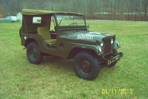 Willys : M38A1 Army Jeep