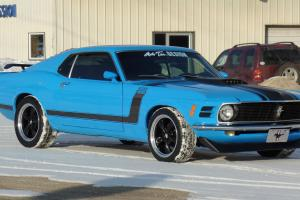Ford : Mustang 1970 FORD MUSTANG BOSS 302 TRIBUTE-SUPERCHARGED-