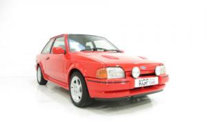 A Remarkable Ford Escort RS Turbo Series 2 with an Incredible 22,703 Miles