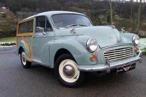 1962 Morris Minor Traveller,BIG spec car, recent refurb, New Wood, 1098cc