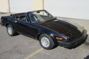 Triumph : Other TR-7 Spyder Photo