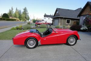 Triumph : Other TR3 Roadster Photo