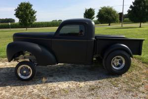 Willys : Pick-Up Gasser Style