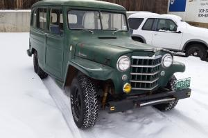 Willys : Overland Wagon 2 Door